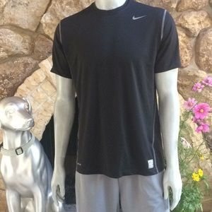 Nike Pro Combat Dri Fit Fitted T Shirt